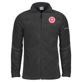 Columbia Full Zip Charcoal Fleece Jacket-Seal