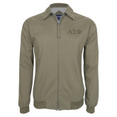 Khaki Players Jacket-Greek Letters Tone
