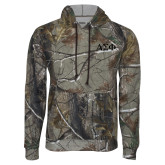 Realtree Camo Fleece Hoodie-Greek Letters Tone