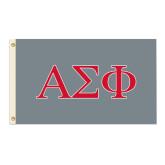 3 ft x 5 ft Flag-Greek Letters Flag