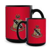 Full Color Black Mug 15oz-Coat of Arms