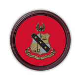 Round Coaster Frame w/Insert-Coat of Arms