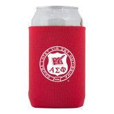 Neoprene Red Can Holder-Seal