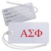 Luggage Tag-Greek Letters