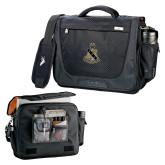 High Sierra Black Upload Business Compu Case-Coat of Arms