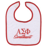 White Sweetheart Bib-