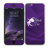 iPhone 6 Skin-Black Fox Logo