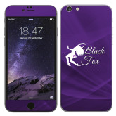 iPhone 6 Plus Skin-Black Fox Logo
