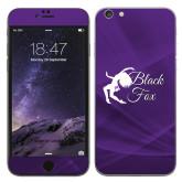 iPhone 6 Plus Skin-Black Fox Logo
