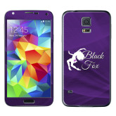 Galaxy S5 Skin-Black Fox Logo