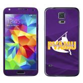 Galaxy S5 Skin-PVAMU Twirling Thunder Logo