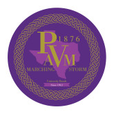 Medium Decal-PVAM Marching Band Seal, 8 inches wide