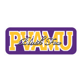 Medium Decal-PVAMU Black Fox Overlap, 8 inches wide