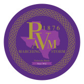Large Decal-PVAM Marching Band Seal, 12 inches wide