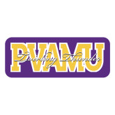 Large Decal-PVAMU Twirling Thunder Overlap, 12 inches wide