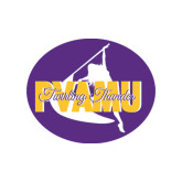 Small Decal-PVAMU Twirling Thunder Logo