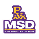 Small Decal-MSD w/ PVAM Logo, 6 inches tall