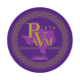 Small Decal-PVAM Marching Band Seal, 6 inches wide