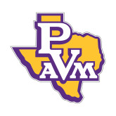 Small Decal-PVAM Texas, 6 inches wide