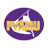 Extra Large Decal-PVAMU Twirling Thunder Logo