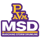 Extra Large Decal-MSD w/ PVAM Logo, 18 inches tall