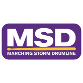 Extra Large Decal-MSD, 18 inches wide