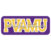 Extra Large Decal-PVAMU Twirling Thunder Overlap, 18 inches wide