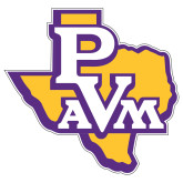 Extra Large Decal-PVAM Texas, 18 inches wide