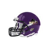 Riddell Replica Purple Mini Helmet-Official Logo