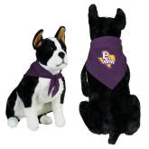 Purple Pet Bandana-PVAM Texas