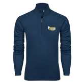 Syntrel Navy Interlock 1/4 Zip-PV Marching Storm Band