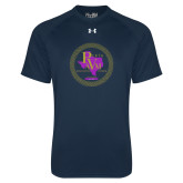 Under Armour Navy Tech Tee-PVAM Marching Band Seal