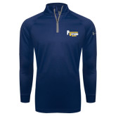 Under Armour Navy Tech 1/4 Zip Performance Shirt-PV Marching Storm Band