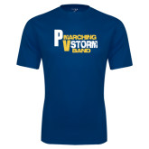 Syntrel Performance Navy Tee-PV Marching Storm Band