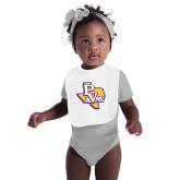 White Baby Bib-PVAM Texas