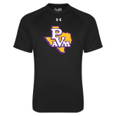 Under Armour Black Tech Tee-PVAM Texas