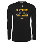Under Armour Black Long Sleeve Tech Tee-Track & Field Design
