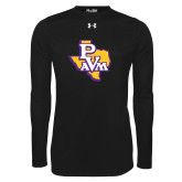 Under Armour Black Long Sleeve Tech Tee-PVAM Texas