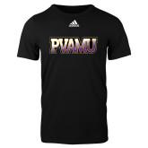 Adidas Black Logo T Shirt-PVAMU
