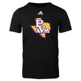 Adidas Black Logo T Shirt-PVAM Texas