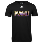 Adidas Climalite Black Ultimate Performance Tee-PVAMU