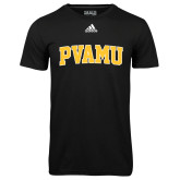 Adidas Climalite Black Ultimate Performance Tee-Arched PVAMU