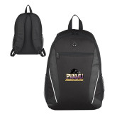 Atlas Black Computer Backpack-Athletic Directors Club