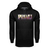 Under Armour Black Performance Sweats Team Hood-PVAMU