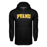Under Armour Black Performance Sweats Team Hoodie-Arched PVAMU