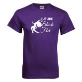 Purple T Shirt-Future Black Fox