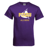 Purple T Shirt-Twirling Thunder Alumni