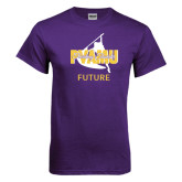 Purple T Shirt-Future Twirling Thunder