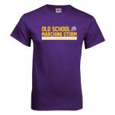 Purple T Shirt-Old School w/ Cloud