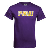 Purple T Shirt-PVAMU Twirling Thunder Overlap